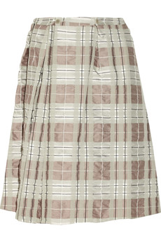Marni Check-jacquard skirt