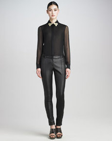 Jason Wu Leather Pants