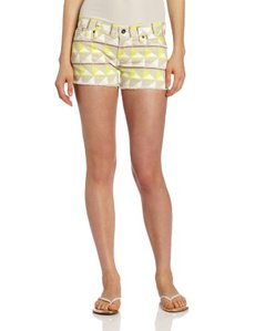 Lucky Brand Women's Printed Riley Short