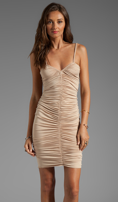 Rachel Pally Desiree V-Neck Dress in Beige