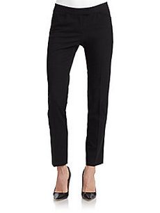 Lafayette 148 New York Cropped Skinny Leg Trousers