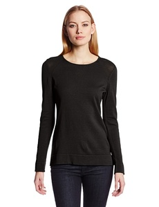 Calvin Klein Women's Mesh Sweater