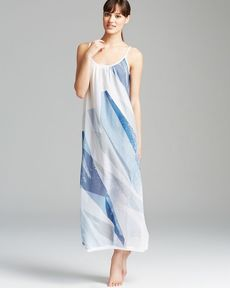 Donna Karan Sleepwear Batiste Long Nightgown