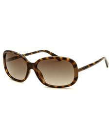 Calvin Klein Women's Rectangle Tortoise Sunglasses