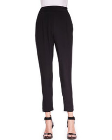 Slim Draped Pocket Trousers   Slim Draped Pocket Trousers
