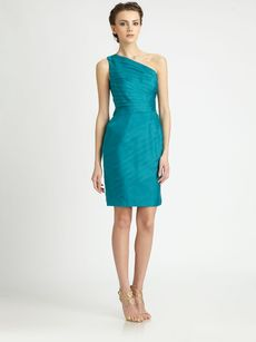 Carmen Marc Valvo Organza Dress