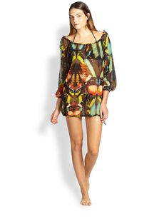 Jean Paul Gaultier Butterfly Coverup