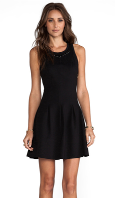 Juicy Couture Charlotte Dress in Black