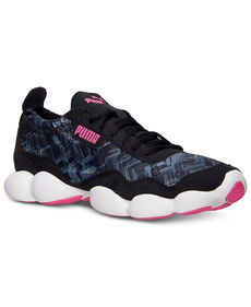 Puma Women's Bubble XT Tribal Running Sneakers from Finish Line