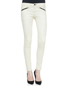 Ridley Moto Leggings, White   Ridley Moto Leggings, White