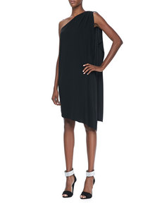 Michael Kors Matte-Jersey Toga Dress