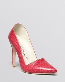 Alice + Olivia Pointed Toe Pumps - Dina High Heel