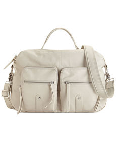 kensie Soft and Washed Satchel
