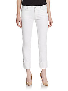 Lafayette 148 New York Cuffed Denim Pants