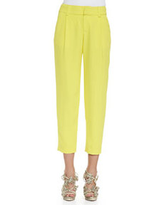 Alice + Olivia Arthur Pleated Relaxed Pants
