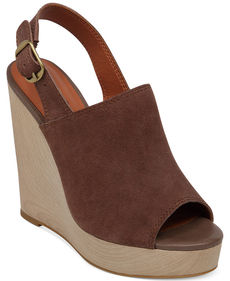 Lucky Brand Ronand Platform Wedge Sandals