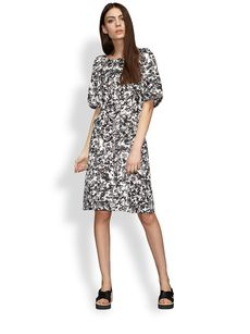 Jil Sander Raviolo Printed Camo Dress