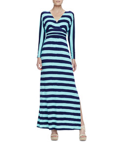 Lilly Pulitzer Riana Striped Jersey Maxi Dress
