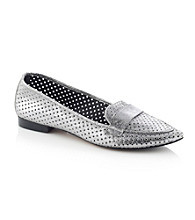 "Donald J Pliner® ""Ava"" Tailored Flats - Pewter"