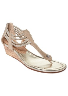 Donald J Pliner Women's Dyna Wedge Thong Sandals