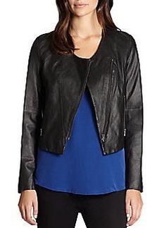 Joie Kamari Leather Moto Jacket