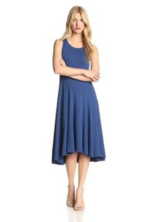 Three Dots Women's Seamed High/Low Dress