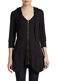 Saks Fifth Avenue BLUE Merchantile Hooded Zip Jacket