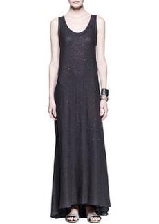 Brunello Cucinelli Paillette Knit Maxi Dress