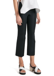 Jil Sander Stretch Satin Ankle Pants