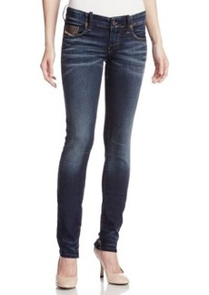 Diesel Women's Grupee-NE Super Skinny Leg Jogg Jean 0604Z