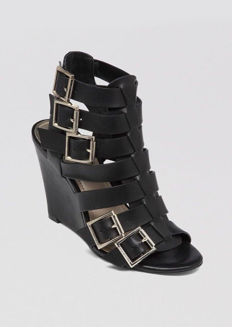 vince camuto gladiator wedge sandals martez