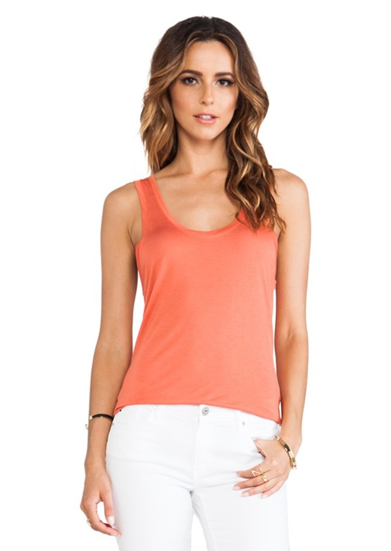 AG Adriano Goldschmied Wren Tank in Orange