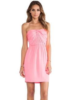 Shoshanna Strapless Zoya Dress in Pink