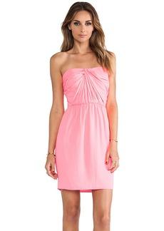 Shoshanna Strapless Zoya Dress in Pink