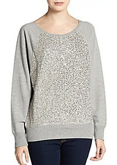 French Connection Ellen Sequin Sweatshirt