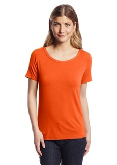 Jones New York Women's Short Sleeve Scoop Neck T-Shirt