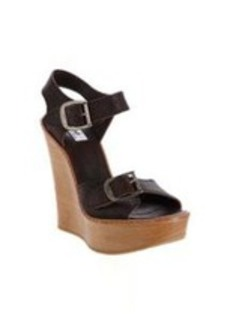 Chloé Buckle Strap Wedge Sandal