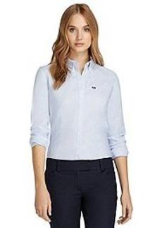 Non-Iron Tailored Fit Supima® Cotton Oxford Dress Shirt