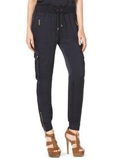 MICHAEL Michael Kors Zip-Pocket Cargo Track Pants