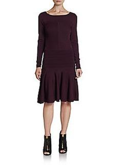 Diane von Furstenberg Delta Textured Fit & Flare Dress
