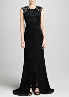JASON WU Sleeveless Embellished Gown
