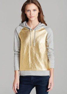 Juicy Couture Hoodie - Metallic Pullover