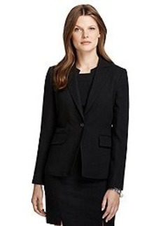 Classic Fit One-Button Jacket