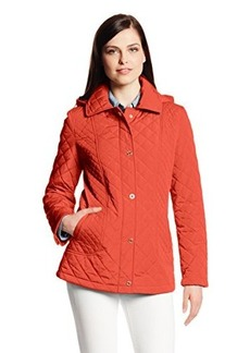Calvin Klein Women's Quilted Snap-Front Jacket