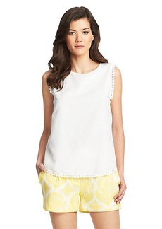 Jessa Sleeveless Cotton Top