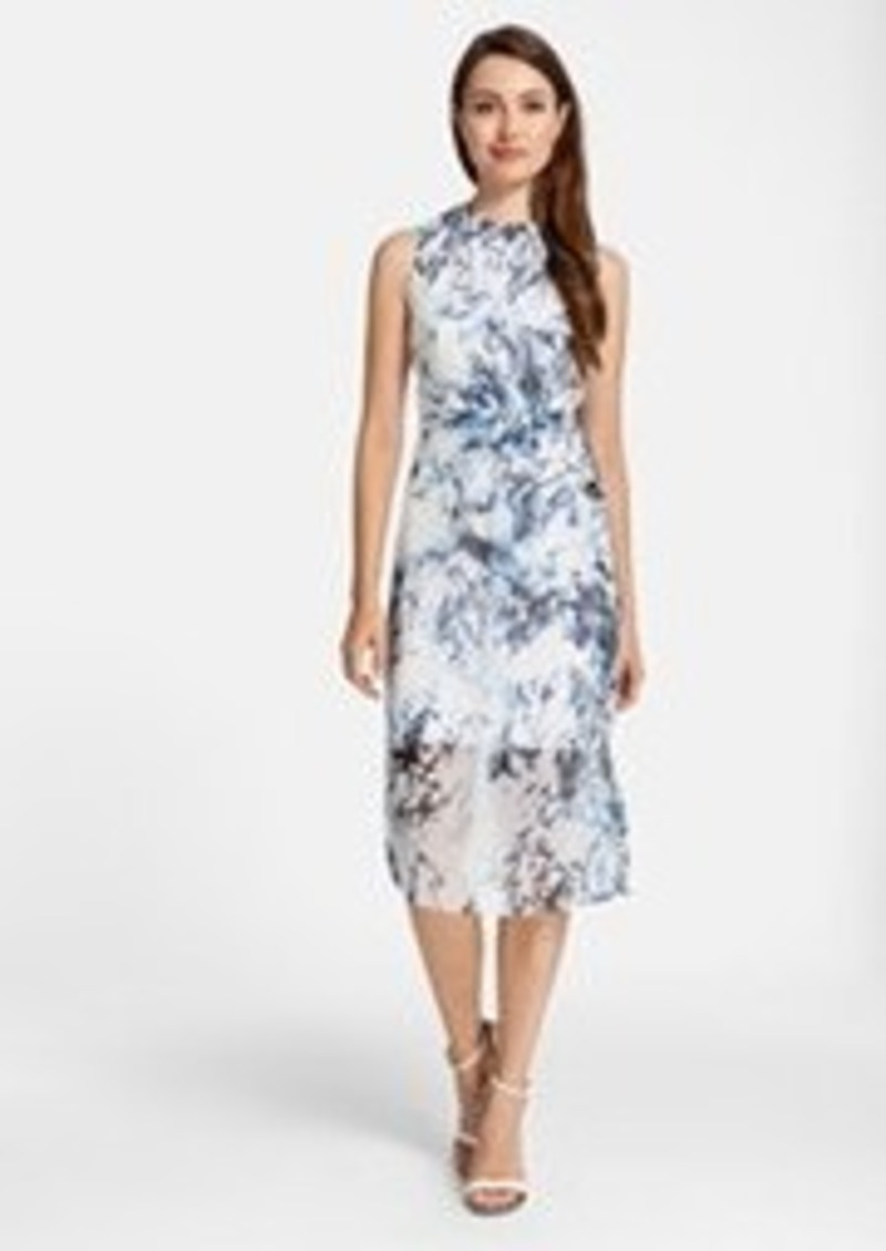 Cynthia Steffe 'Riva' Print Silk Dress