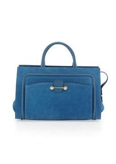 Jason Wu Daphne Suede East/West Tote Bag, Blue