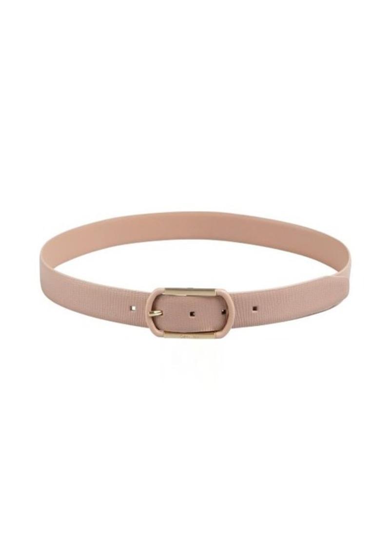 Calvin Klein sand snake embossed reversible belt