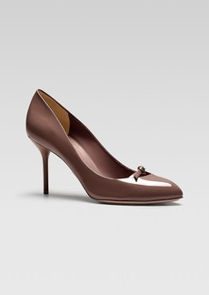 Gucci Beverly Mid Heel Pump