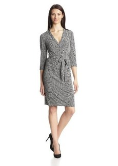 laundry BY SHELLI SEGAL Women's Wiggle-Wave Wrap Dress